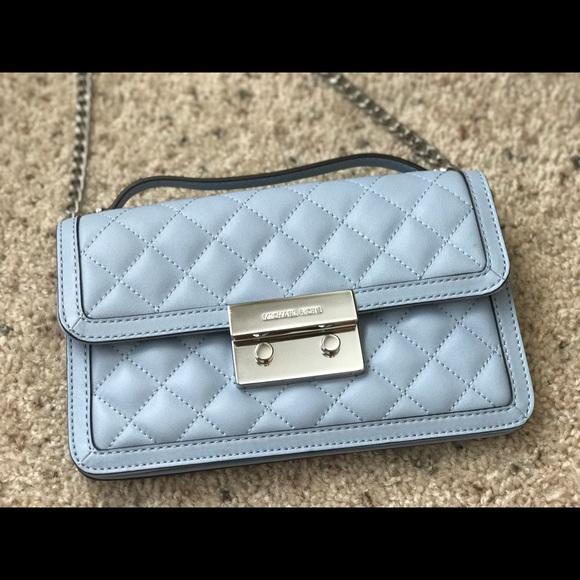 449ff9e2a6c MICHAEL KORS Sloan Leather SM Messenger bag Blue